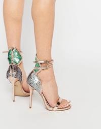 Сандалии на каблуке с пайетками Carvela Guide - Bronze