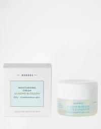 Увлажняющий крем Korres Almond Blossom - для жирной и комбинированной