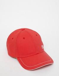 Бейсболка с логотипом Hugo Boss - Красный