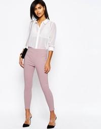 Укороченные зауженные брюки ASOS - Mink