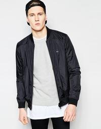 Легкая байкерская куртка Threadbare - Черный