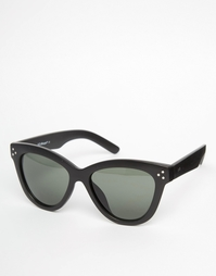 Черные солнцезащитные очки кошачий глаз AJ Morgan - Черный