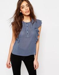 Блузка с рукавами‑оборками Jack Wills - Мульти