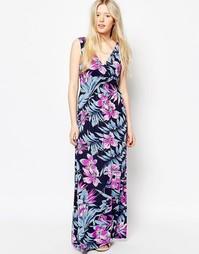 Платье макси с цветочным принтом Jasmine - Цветочный