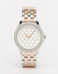 Часы двух цветов Armani Exchange Lady Hampton AX5249 - Мульти
