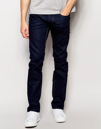 Синие прямые джинсы Jack & Jones - Синий деним