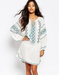 Платье с вышивкой Star Mela Mayra