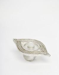 Кольцо в форме глаза Glamorous - Серебряный