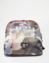 Рюкзак с принтом adidas Originals Rita Ora - Черный