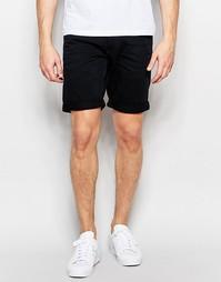 Черные джинсовые шорты Jack & Jones - Черный