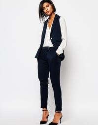 Строгие брюки-галифе Vero Moda - Темно-синий