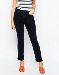 Черные повседневные джинсы слим MiH - Сине-черный