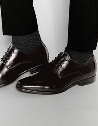 Лакированные кожаные дерби ALDO Dalce - Черный