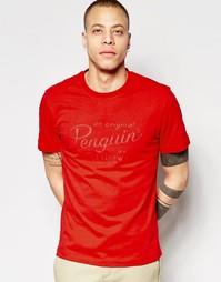 Футболка Original Penguin - Красный
