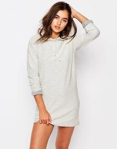 Платье-футболка с капюшоном Missguided - Серый