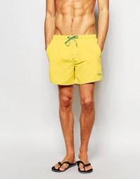 Шорты для плавания Hugo Boss Lobster - Желтый