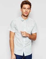 Рубашка с короткими рукавами и мелким цветочным принтом Another Influe