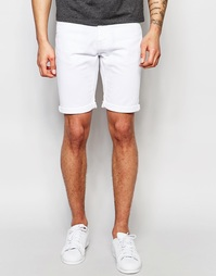 Джинсовые шорты Threadbare Winder - Белый
