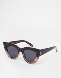Солнцезащитные очки кошачий глаз с плоскими линзами ASOS