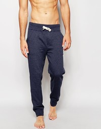 Зауженные штаны для бега с манжетами Tommy Hilfiger Sinne - Синий