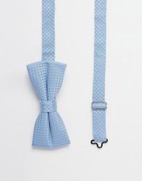 Фактурный галстук‑бабочка Noose & Monkey - Синий