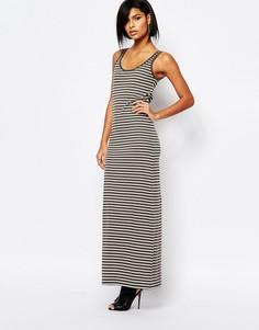 Платье макси в полоску Vero Moda - В полоску