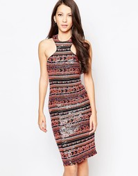 Платье с отделкой пайетками Ashley Roberts for Key Collections Liquori