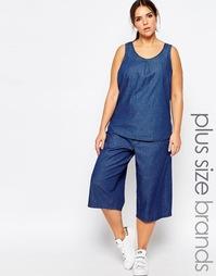 Джинсовая юбка-шорты Junarose - Синий