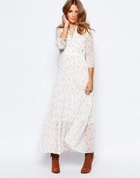Платье макси с цветочным принтом Millie Mackintosh Victoriana