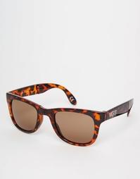 Коричневые складывающиеся солнцезащитные очки Vans Spicoli VUNK9D7