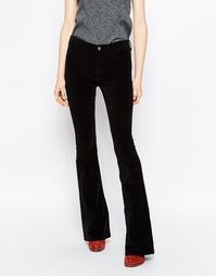 Черные узкие джинсы с клешем MiH Marrakesh - Черный
