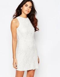 Кружевное цельнокройное платье без рукавов A Star Is Born - Белый