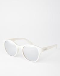 Круглые солнцезащитные очки с зеркальными стеклами Le Specs Paramount
