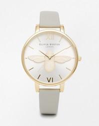 Серые часы с пчелой Olivia Burton - Серый
