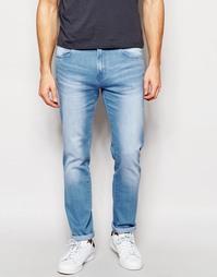 Облегающие эластичные джинсы синего цвета Waven Verner