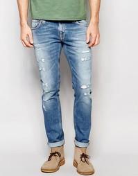 Облегающие светлые джинсы Nudie Jeans Ben Replica - Ben replica
