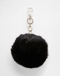 Черная пушистая подвеска для сумки Skinnydip - Мульти