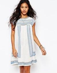 Платье-туника с вышивкой Star Mela Allie