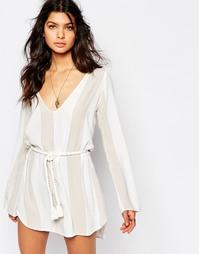 Платье с завязками на поясе Faithfull Talitha - Romero stripe