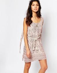 Платье Faithfull Luci - Принт Fairfax