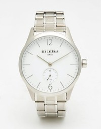 Серебристые часы Ben Sherman Spitalfields - Серебряный