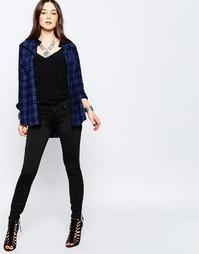 Черные джинсы слим Blank NYC - One night stand