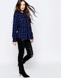 Рваные зауженные джинсы Blank NYC - Черный