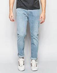 Светлые эластичные джинсы слим Weekday Wednesday - Fun