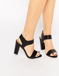 Босоножки на каблуке ALDO Selarwen - Черный