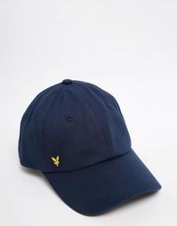 Бейсболка с логотипом Lyle & Scott - Синий