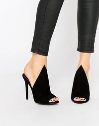 Черные замшевые сабо Kendall & Kylie Essie - Черный