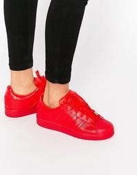 Красные кроссовки adidas Originals Superstar Super Colour Scarlet