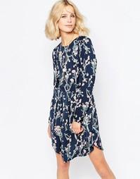 Платье с цветочным принтом First and I Fly - Total ecl combo