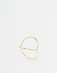Кольцо с символами Monki - Золотой